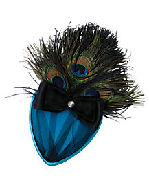 Peacock Fascinator Hat