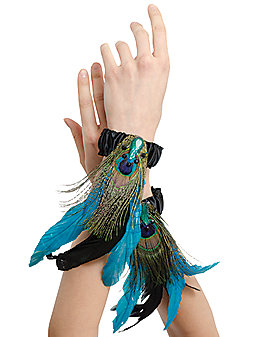 Peacock Arm Bands