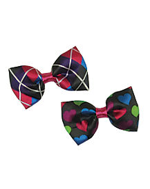 School Nerd Hair Bows