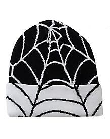 Spiderweb Beanie Hat
