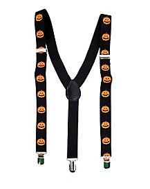 Pumpkin Suspenders