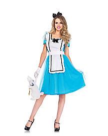 Classic Alice Womens Costume