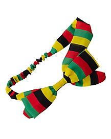 Rasta Bow HeadBand