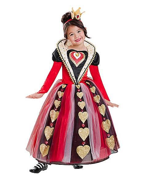 Kids Queen Of Hearts Costume Spirithalloween Com