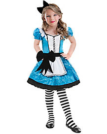 Kids Sequin Alice Costume