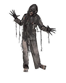 Adult Burning Dead Zombie Costume