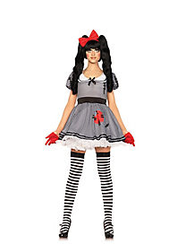 Adult Wind Me Up Doll Costume
