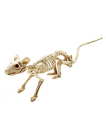 16 in Mini Skeleton Rat - Decorations