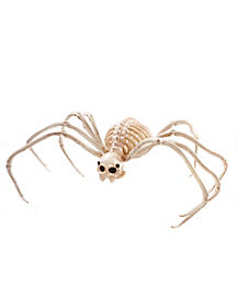 2 ft Wide Skeleton Spider - Decorations