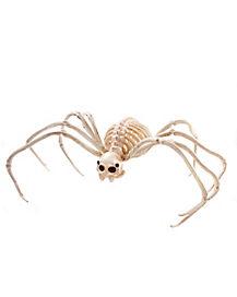 2 ft Wide Skeleton Spider - Decorations