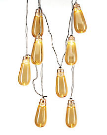 Edison Bulb Flickering String Lights