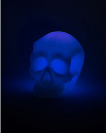 Purple LED Skull Light