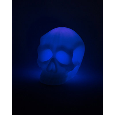 Purple LED Skull