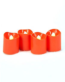 Orange Flameless Votive