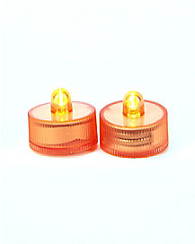 Submerse Orange Tea Light 2 Pack