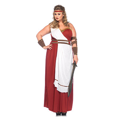 Spartan Goddess Plus Size Womens Costume