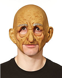 Chinless Old Man Mask