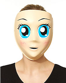 Blue Eyed Anime Mask