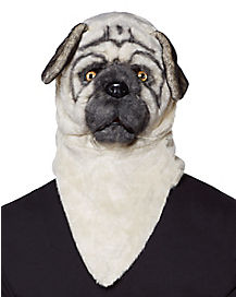 Pug Moving Mouth Mask