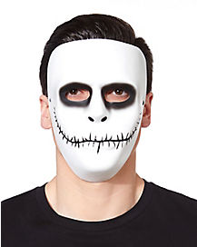 Male White Skeleton Mask