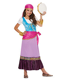 Dancing Gypsy Child Costume