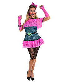 80s Diva Adult Womens Costume