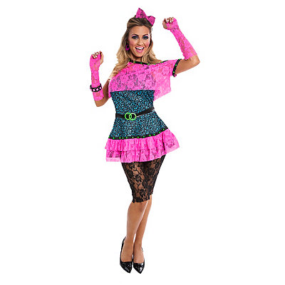 Adult 80s Diva Costume