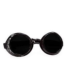 Steampunk Victorian Black Goggles