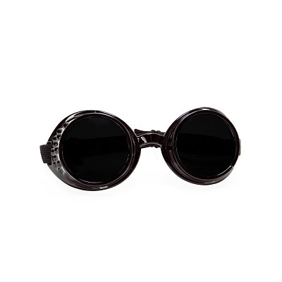 Unique Retro Vintage Style Sunglasses & Eyeglasses Steampunk Victorian Black Goggles $7.99 AT vintagedancer.com