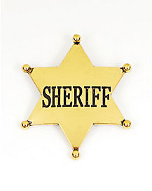 Western Sheriff Gold Badge