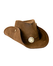 Brown Deluxe Cowboy Hat