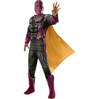 Avengers Vision Adult Mens Costume