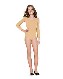 Girls New Nude Bodysuit