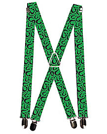 Riddler Suspenders - Batman