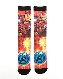 Iron Man Crew Socks - Avengers
