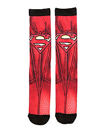 Superman Sublimated Crew Socks