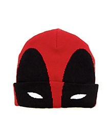 Deadpool Cuff Beanie Hat- Marvel