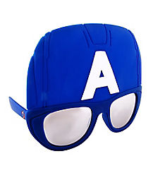 Captain America Glasses - Marvel