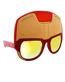 Iron Man Helmet Glasses - Marvel Comics