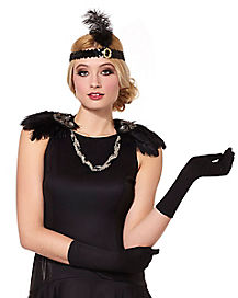 20s Feather Epaulettes