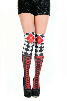adult female knee high socks halloween