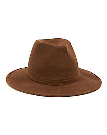 Brown Horror Fedora