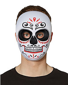 Day of the Dead Male Full Mask