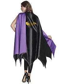 Adult Batgirl Cape Deluxe - DC Comics
