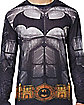 Adult Long Sleeve Printed Batman  T-Shirt