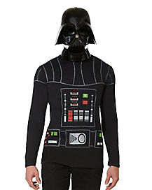 Adult Long Sleeve Darth Vader T-Shirt - Star Wars