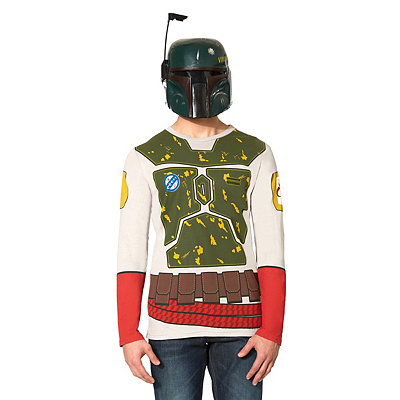 Star Wars Boba Fett Long Sleeve Adult Shirt