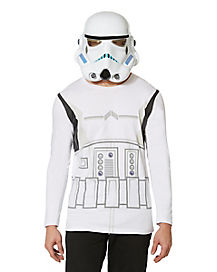 Storm Trooper Long Sleeve Mens Shirt
