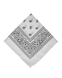 White Basic Bandana