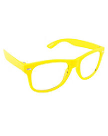 Yellow Basic Glasses